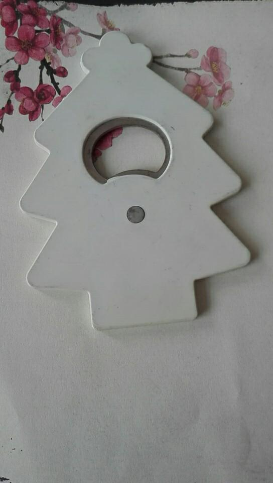 magnetic Christmas tree plastic bottle opener 1613836 5