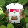 jersey design plasic bottle opener keychain 1613837