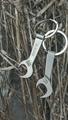 Wrench Design Heavy Metal Bottle Opener 1613853 2