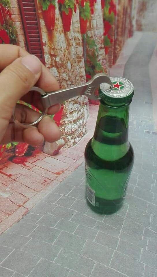 Wrench Design Heavy Metal Bottle Opener 1613853 6