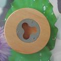 Round Wood Bottle Opener Magnetic Round Wood Coaster Bottle Opener 1