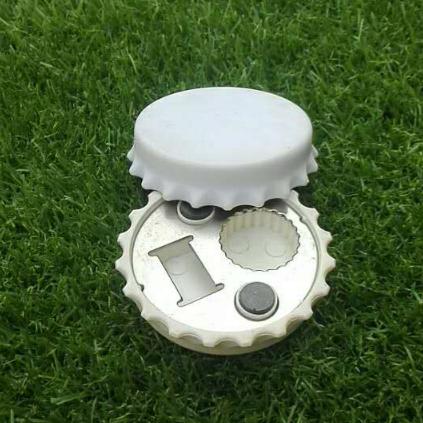 Round Bottle Opener for Metal & Plastic Caps 1613860 2