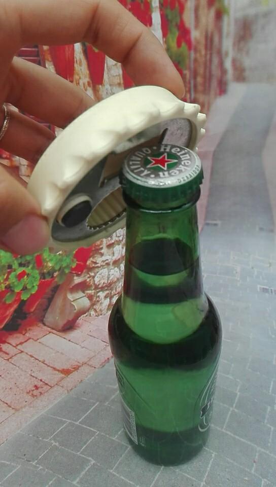 Round Bottle Opener for Metal & Plastic Caps 1613860 5