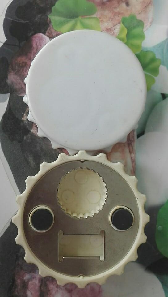 Round Bottle Opener for Metal & Plastic Caps 1613860 6