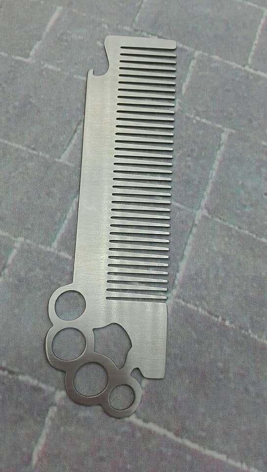 Stainless Steel Self Defense Comb Bottle opener 1613872 3