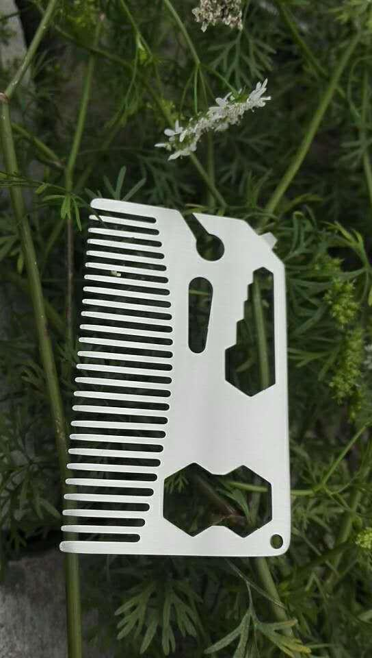 Hollow out a comb bottle opener 1613882 5