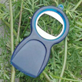 Round Plastic Bottle Opener 1613883