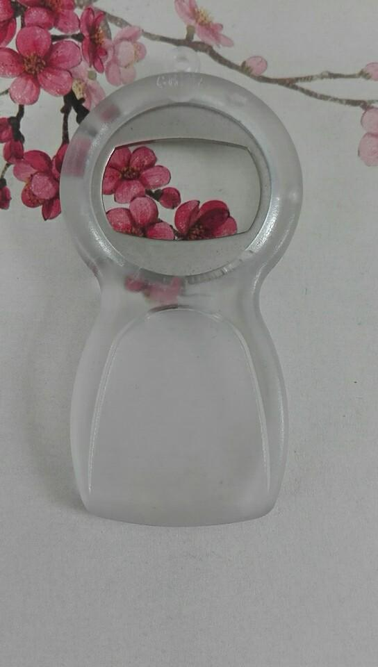 Round Plastic Bottle Opener 1613883 5