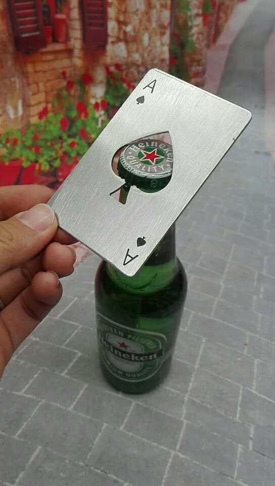 poker A design  bottle opener 1613884 3