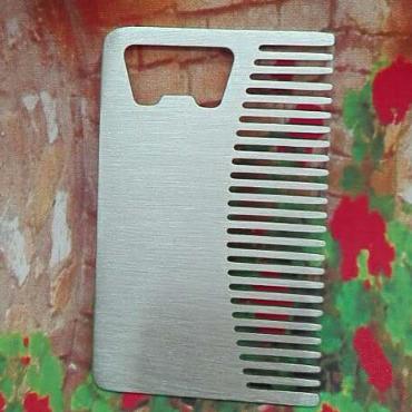 Rectangular comb opener bottle opener beer opener 1613891 1