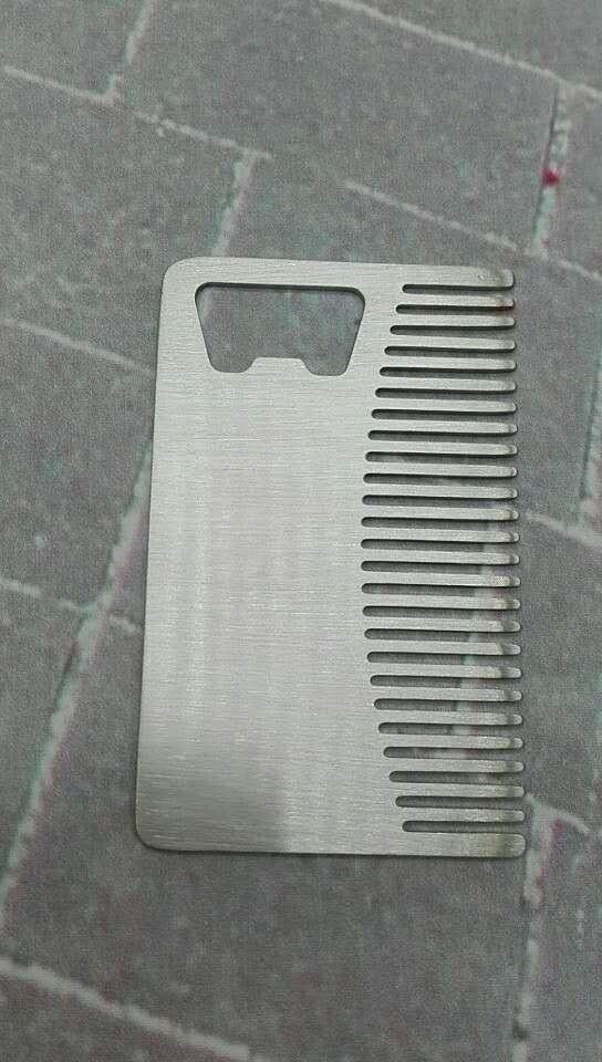 Rectangular comb opener bottle opener beer opener 1613891 2