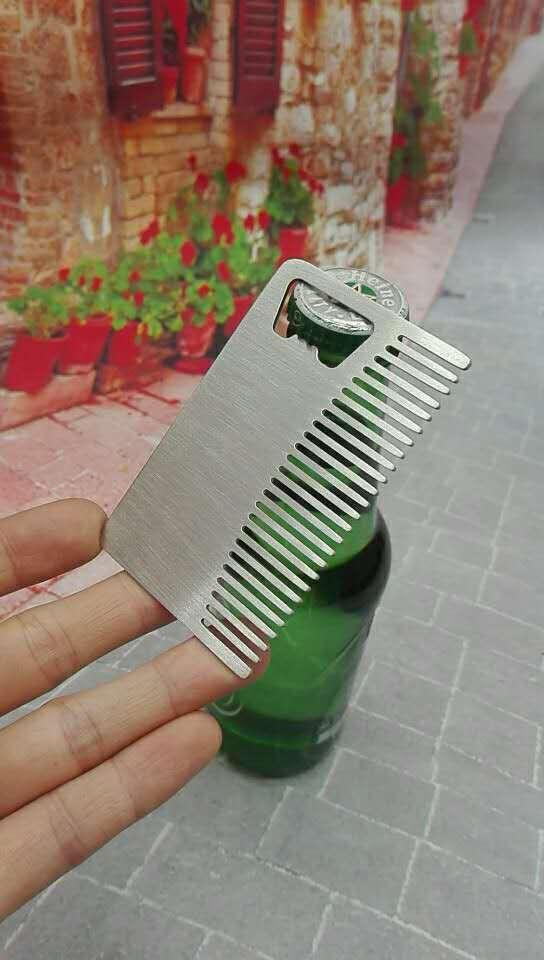 Rectangular comb opener bottle opener beer opener 1613891 3