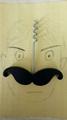 Beard shaped wine bottle opener 1614042