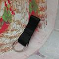 Customized design flexible elastic straps keychain 1609001 1