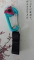 Customized design flexible elastic straps keychain 1609001 4