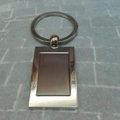 The grinding surface  Zinc Alloy Keychain 1610063