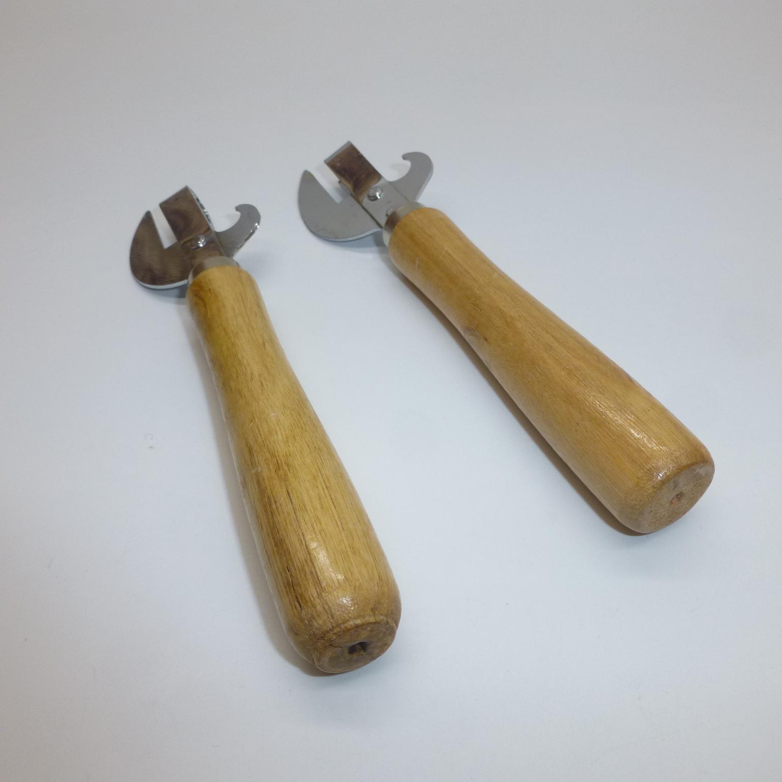 Wood Handle Bottle Can Opener 7