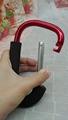 Factory 4cm 5cm 6cm 7cm 8cm  round carabiner colorful full paint keychain