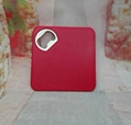 Square  coaster bottle opener beer opener 1613894