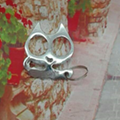 Heavy metal  cat kitten  monkey  monster pig skulldesign Kubaton keychain