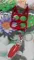 Colorful cat design Kubaton keychain 1915018