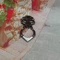 Skull ring shape awl shape ghost ring