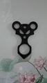 Skull ring shape awl shape ghost ring  design Kubaton keychain