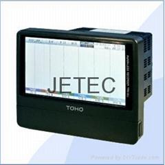 TRM-00J 六通道-無紙記錄儀(觸控式)