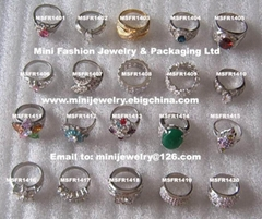 Finger Rings with CZ stones (Hot Product - 1*)
