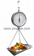 double face hanging scale