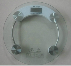 Traditional electronic personal scale