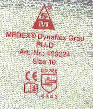 Garment Clothing Label Iron-On Heat Transfer Sticker for Knitted Gloves 1