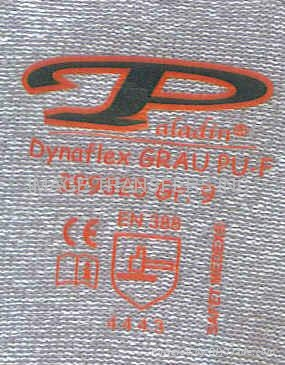 Garment Clothing Label Iron-On Heat Transfer Sticker for Knitted Gloves 3
