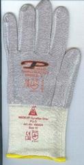 Industrial WORK glove tag-less label heat transfer sticker