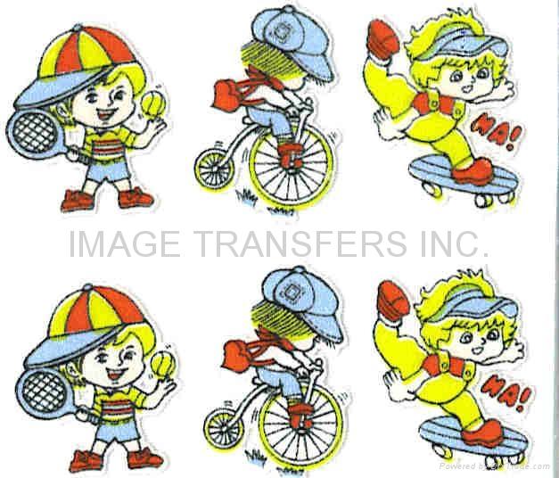 Iron-on Flocking Transfer paper film -Toys Eyes  2