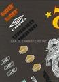 Iron-on Flocking Transfer paper film -Toys Eyes  5
