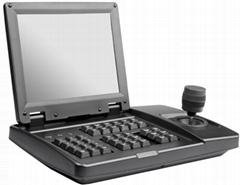 8寸屏可视化高清SDI控制键盘