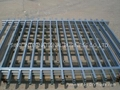 Black Matte Iron Railings, Made of Hot-dipped Galvanized Steel Materia