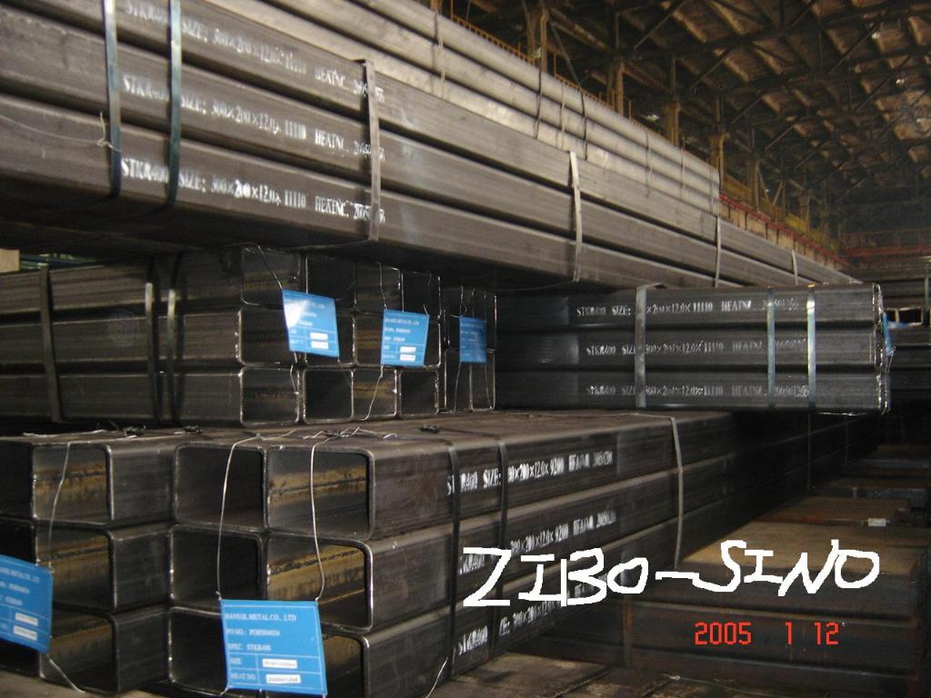 Large Steel Hollow Section EN10219,EN10210,ASTMA500
