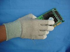 Anti- static finger coating gloves