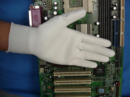 Anti-static palm coating gloves 1