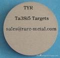 Tatanlum silicide (Ta3Si5, TaSi2) ceramic sputtering target