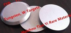 Tungsten (W) metal targets use in Planne display thin film CAS 7440-33-7