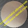 Bismuth (Bi) metal sputtering targets, purity; 99.99%, CAS: 7440-69-9