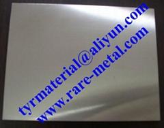 Hafnium (Hf) metal sputtering targets, purity: 99.9%, CAS: 7440-58-6