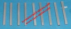 Ruthenium (Ru) metal sputtering targets, Purity: 99.95%, CAS: 7440-18-8