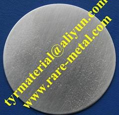 Iridium (Ir) metal sputtering targets, Purity: 99.95%, CAS: 7439-88-5