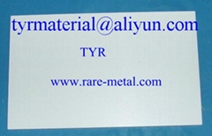 Gallium Oxide (Ga2O3) sputtering targets, Purity: 99.99%, CAS ID: 12024-21-4