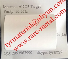 Aluminum oxide (Al2O3) sputtering target use in thin film coating CAS 1344-28-1