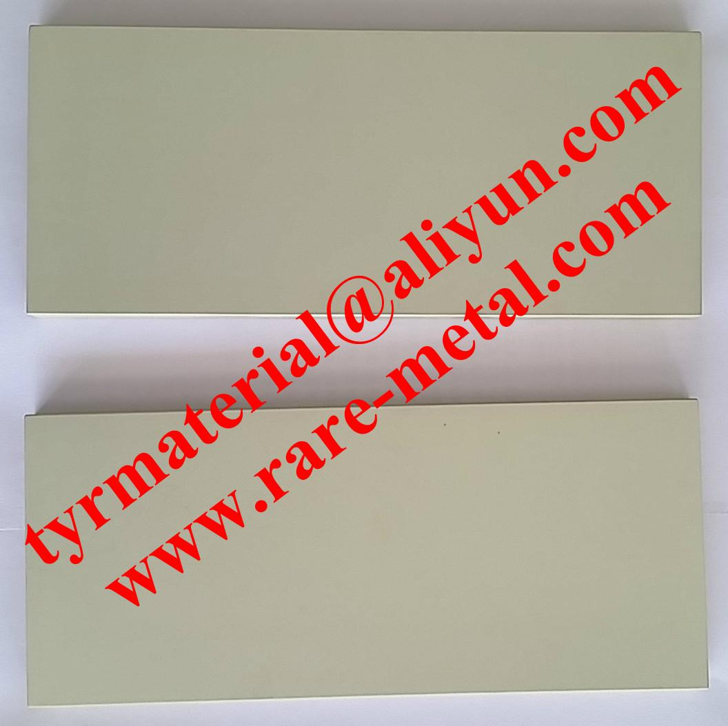 Aluminum Zinc oxide (AZO) sputtering targets CAS 1314-13-2 and and 1344-28-1 1